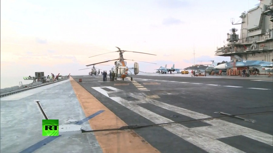 Admiral Kuznetsov's Aircraft Wing during Syrian Operation (Photo & Video)