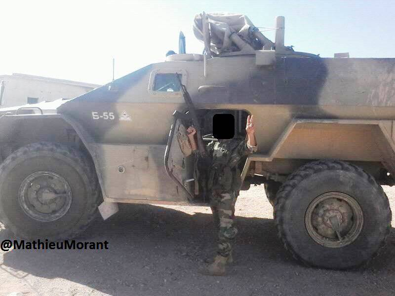 Syrian Army Continues to Use BTR-80/82 & Vystrel Armored Vehicles in Fighting (Photos)