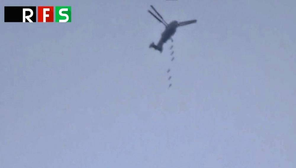 Syrian Military Turned Ka-28 Helicopter into Bomber