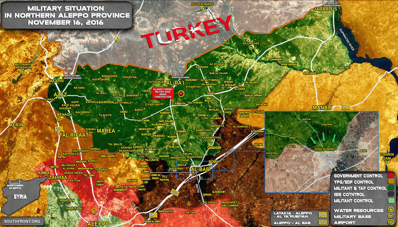 Turkish-backed Militants Seize Town of Qabasin Northwest of al-Bab