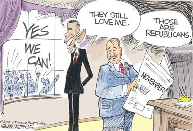 """Obama Believes """"the healthy majority of Americans"""" Agree with His World-View (Video)"""