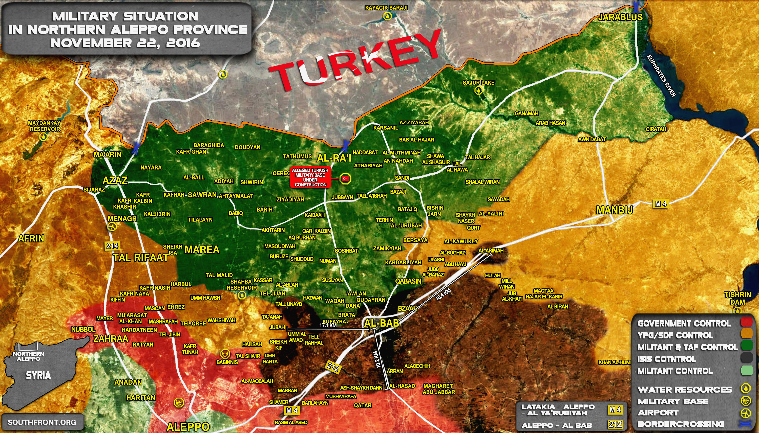 Pro-Turkey Militants and Kurdish YPG Forces Face Stalemate in Northern Syria