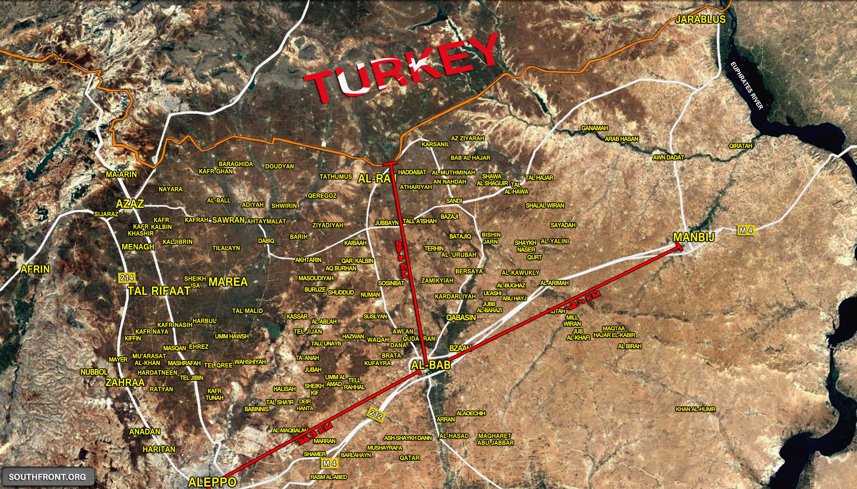 Stronghold Al-Bab: Whoever Controls Northern Syria Influences the Entire Middle East