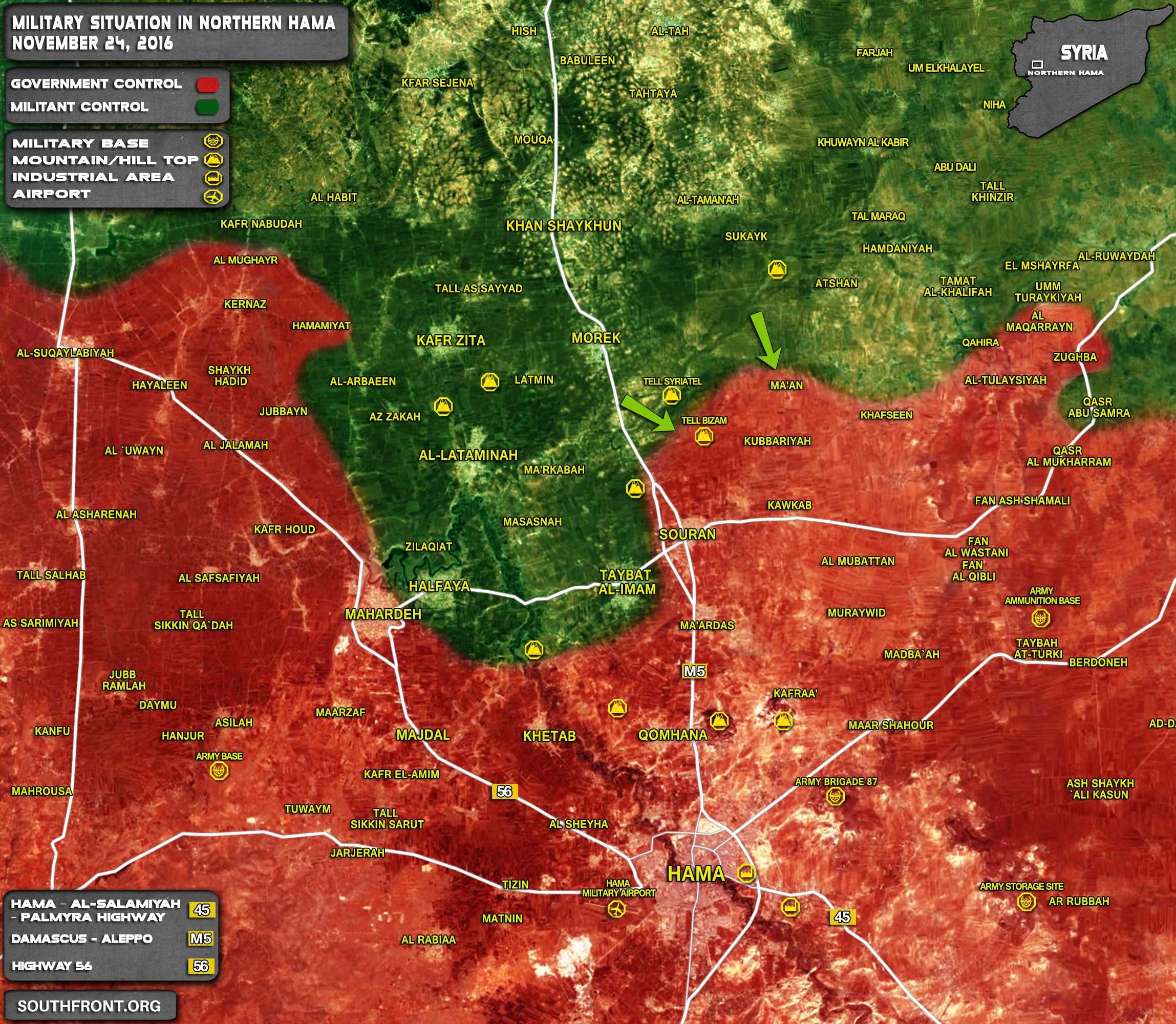 Syrian Army Foils Militants Offensive, Launches Counter Attack in Northern Hama
