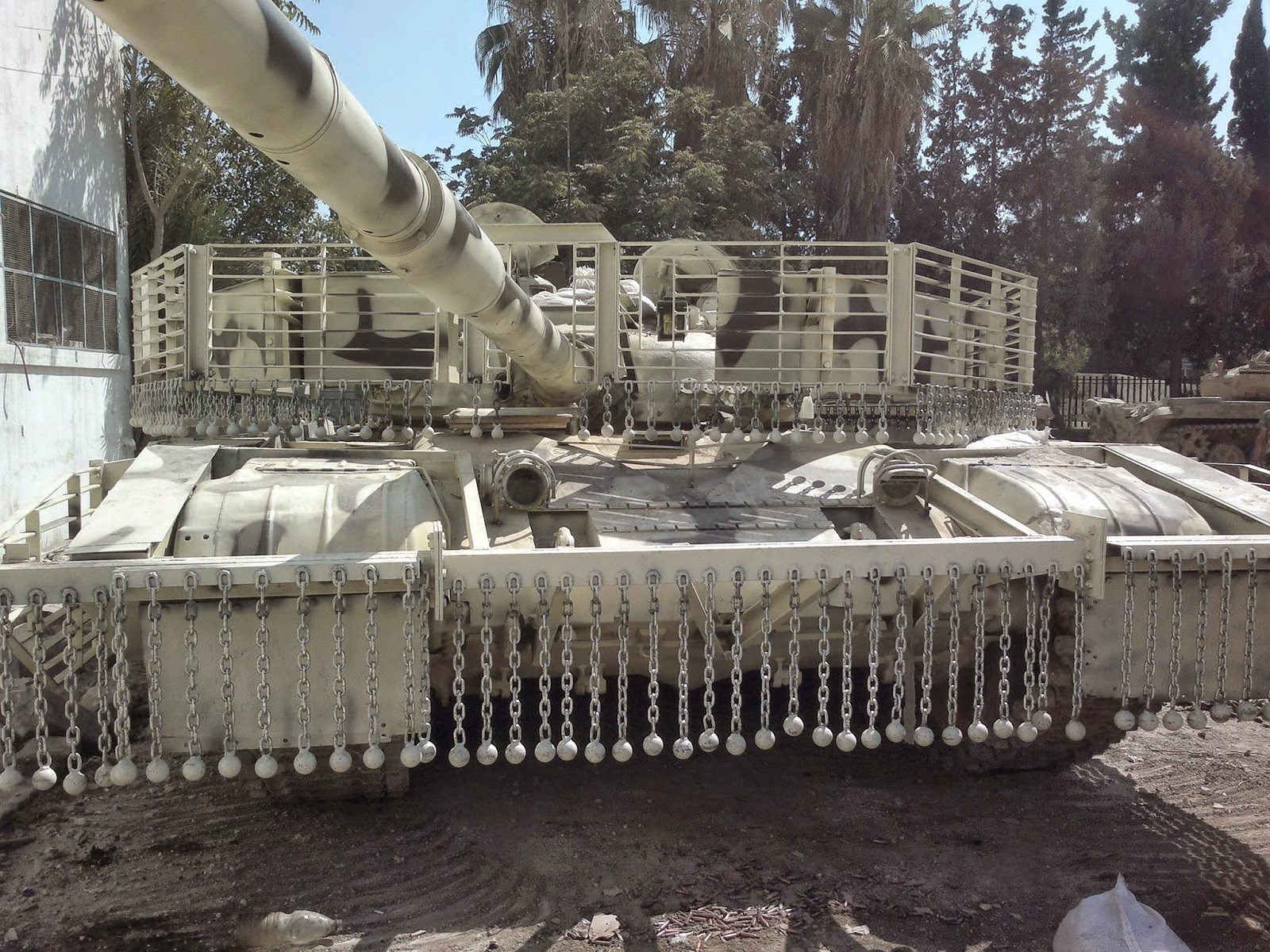 Syrian Military Uses New 'Mega-Protected' T-72 Tanks (Photos)
