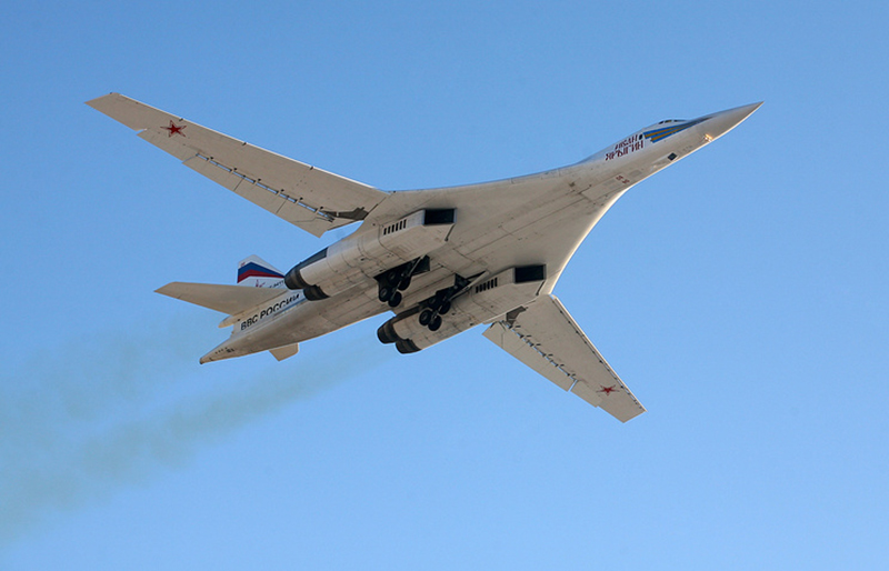 Russia's Tu-160, Tu-95 Strategic Bombers On Combat Alert, Being Loaded with Missiles for Syria Strikes