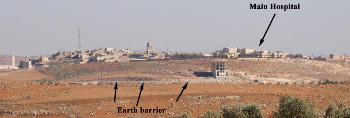Fig. 5 A look at Al-Bab from the Turkish positions