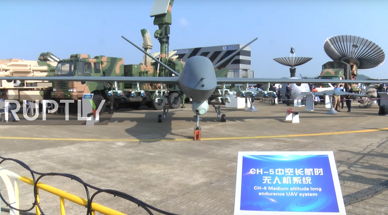 New Chinese CH-5 Drone 'More Efficient & Powerful' than American Reaper (Video)