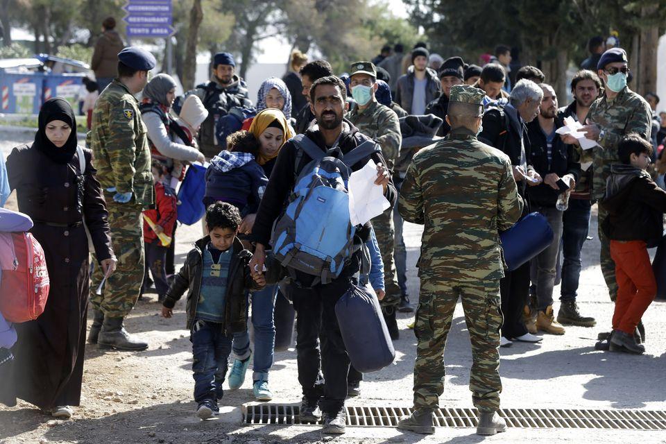 EU Border Staff Flee from Greek Islands