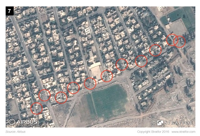 Satellite Imagery Shows ISIS Defenses in Mosul
