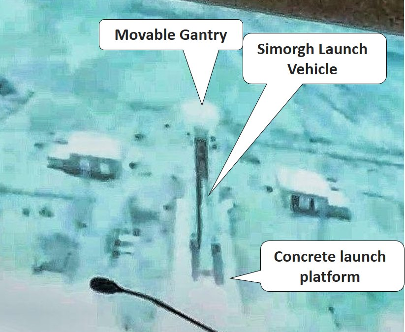 First Video of New Iranian Simorgh Launch Vehicle Published Online