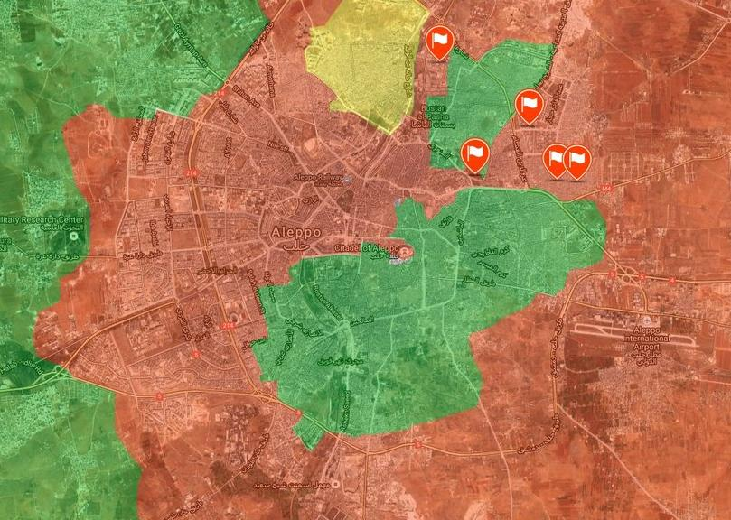 Govt Forces Capture Al Sakhur Neighborhood. Militants Withdrawing from Northern Aleppo - Reports