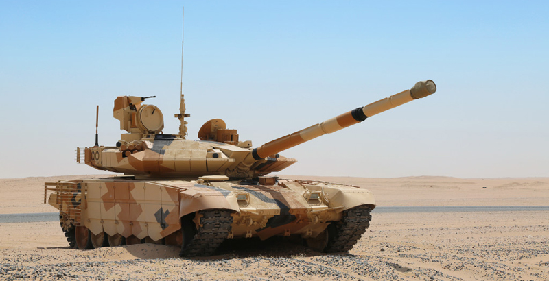 India to Purchase 464 Russian T-90MS Battle Tanks
