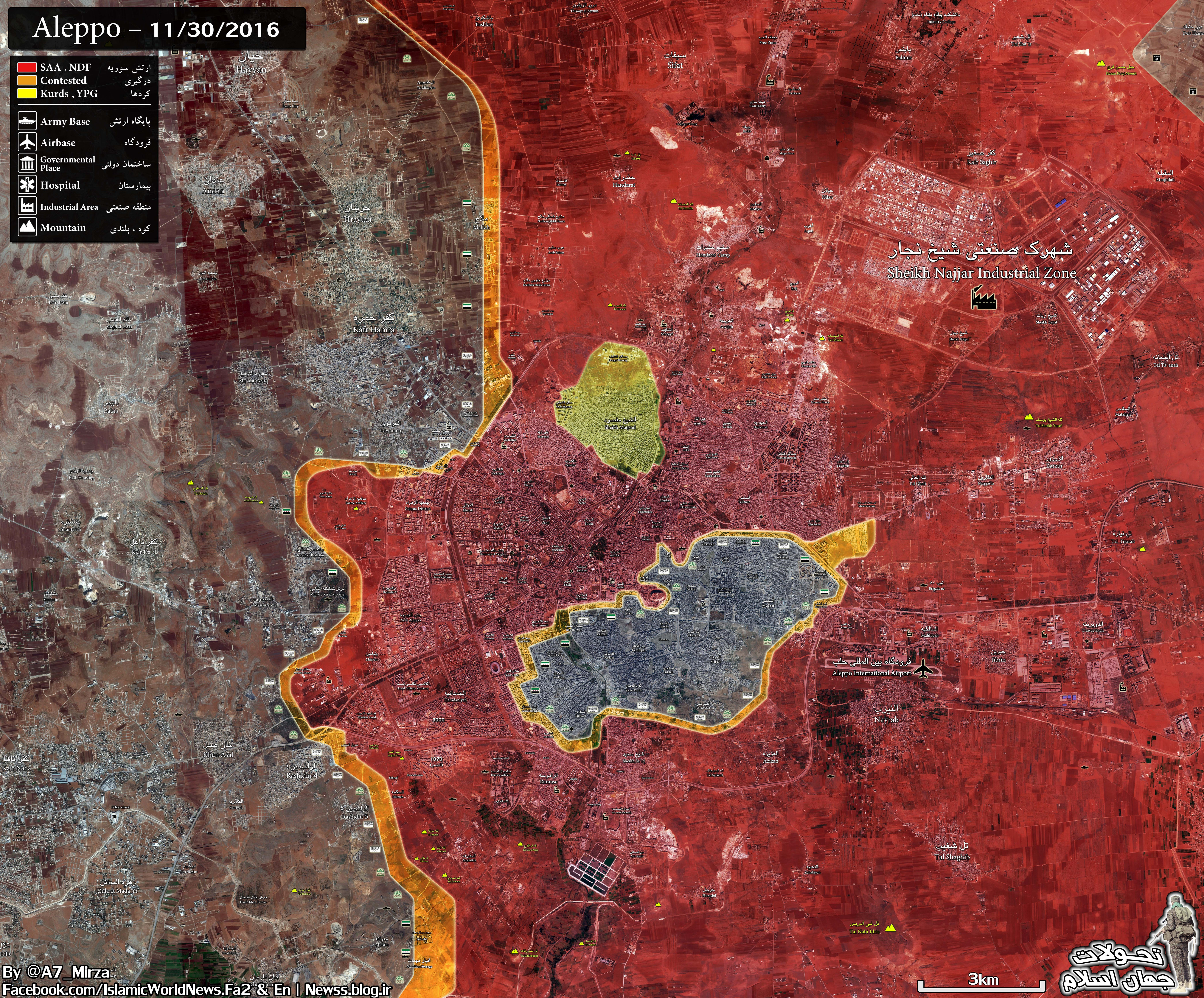 Russia: 16 Neighborhoods of Aleppo City Liberated, 18,000 Civilians Freed from Militant-Held Areas