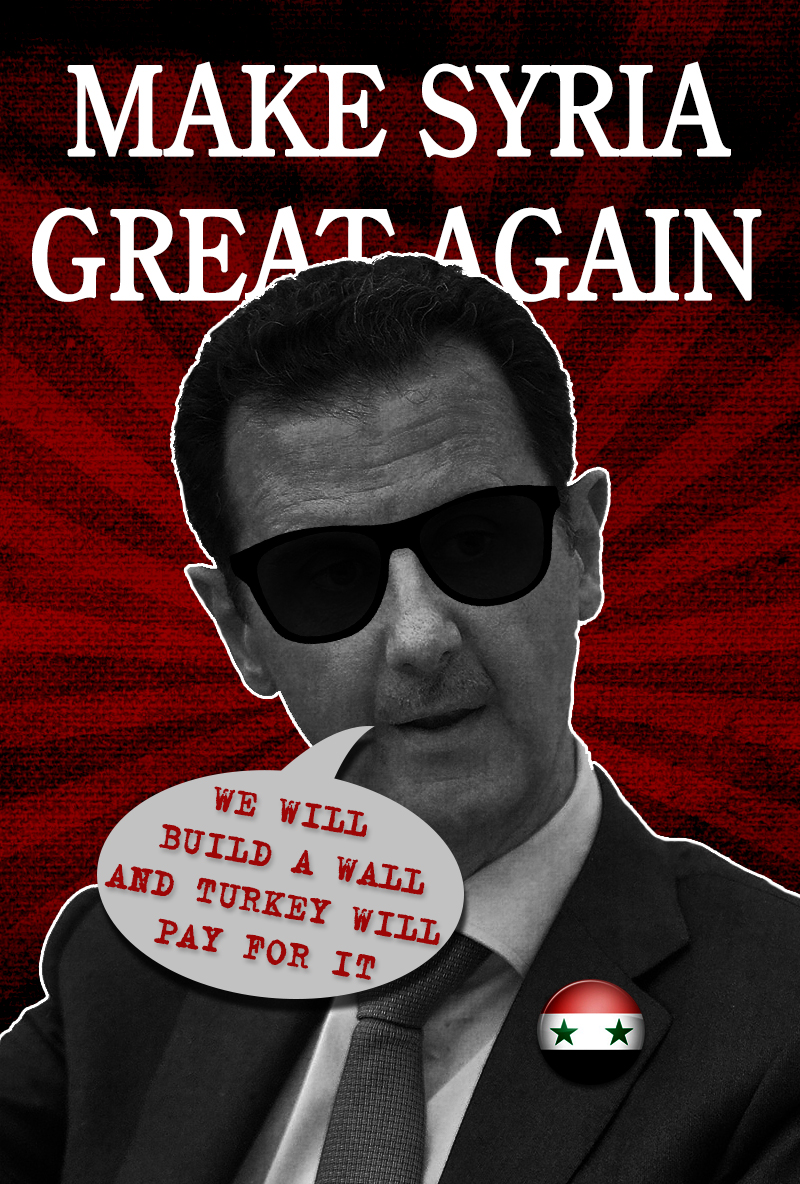 'Make Syria Great Again' - Poster