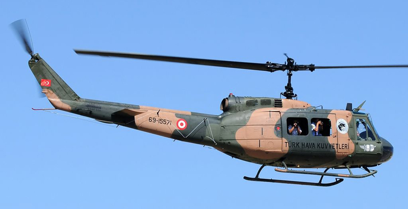 Turkish Helicopter Brings Turkish Soldiers & Suspicious Boxes in Idlib
