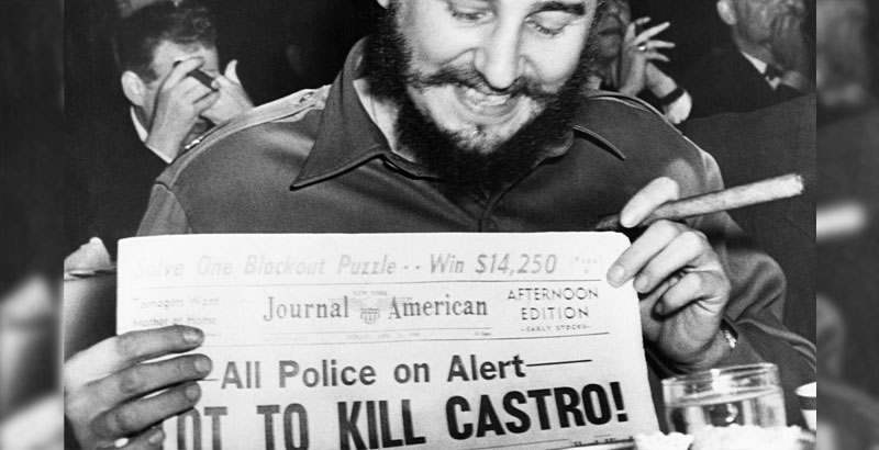 When CIA Tries to Assassinate You 638 Times but You Pass Away on Your Own Terms in 90 Years Old