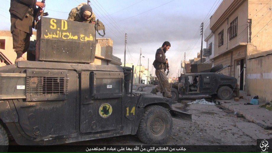 Battle for Mosul on November 10, 2016