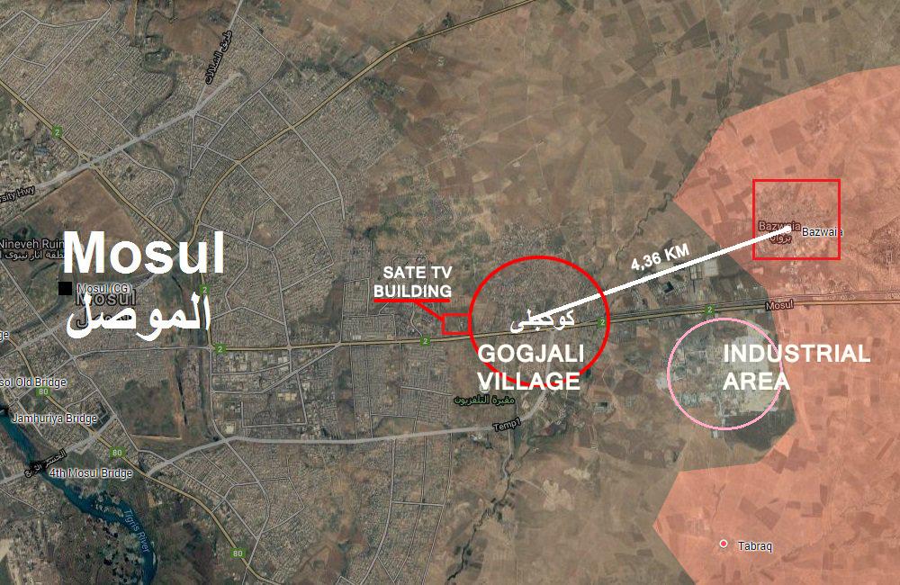 Iraqi Forces Liberate Gogjali Village, Enter Mosul