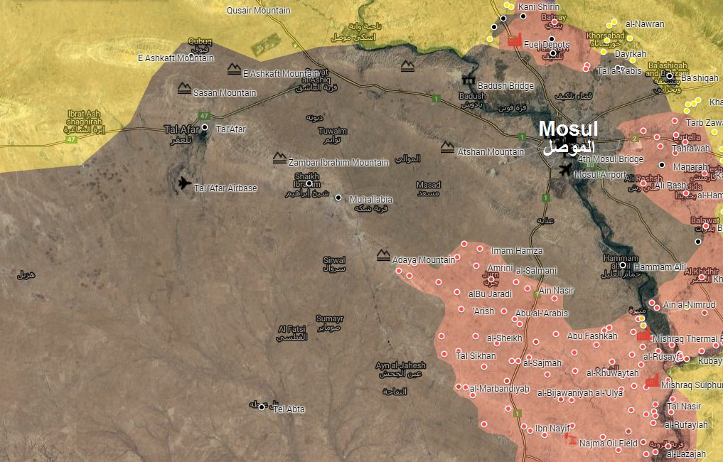 Iraqi Forces Attempting to Enter ISIS-Controlled Mosul