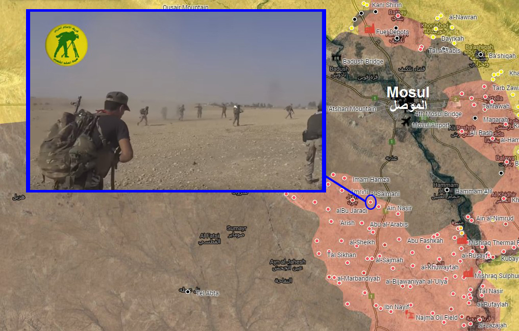 Combat Footage: Popular Mobilization Units Liberate al-Salamani Village West of Mosul