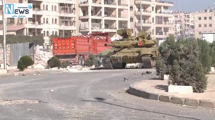 Syrian Forces Deploy Advanced Russian-made T-90 Battle Tanks to Aleppo Battle (Video)