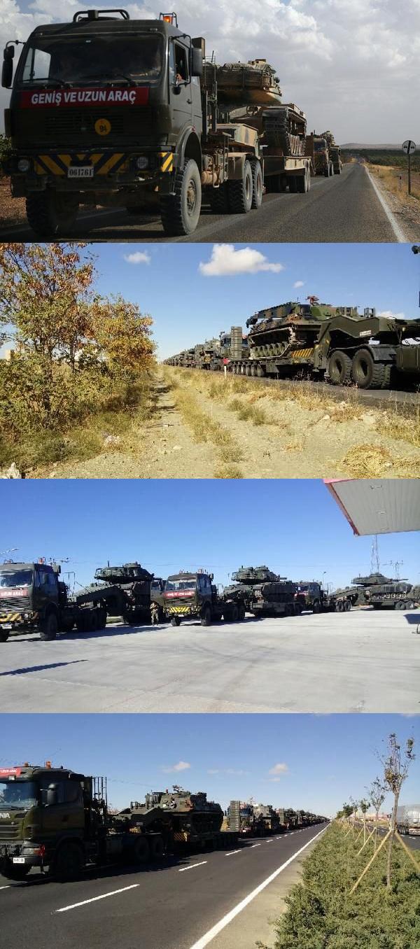 Turkey's Military Build Up at Iraqi Border (Photos, Map, Infographics)