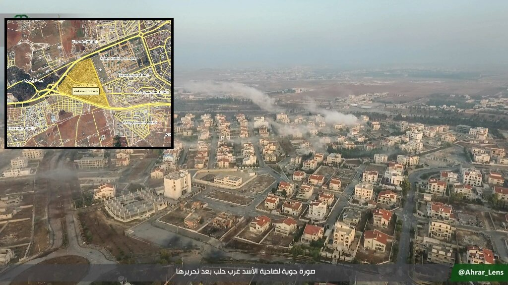Overview of Military Situation in Aleppo City on November 2, 2016
