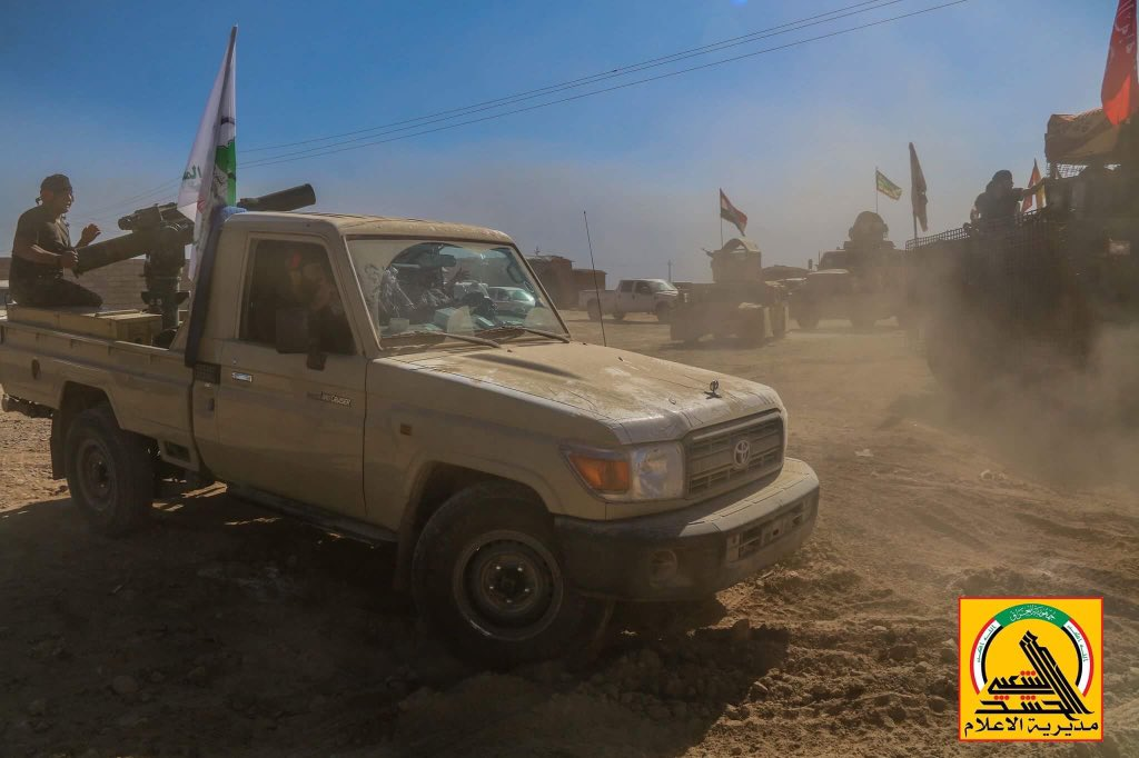 Popular Mobilization Units Liberate Ghazila Village West of Mosul (Photos)