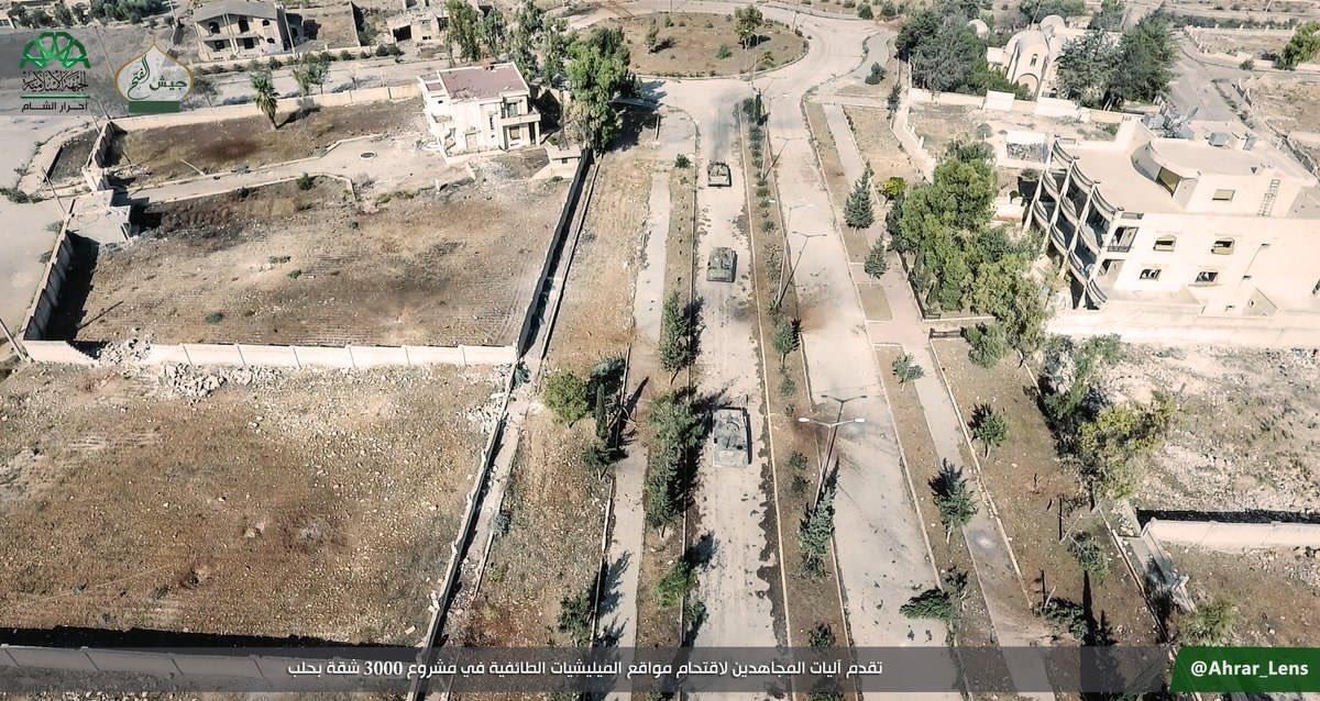 Govt Forces Repelled Jaish al-Fatah Fiercest Attack in Western Aleppo