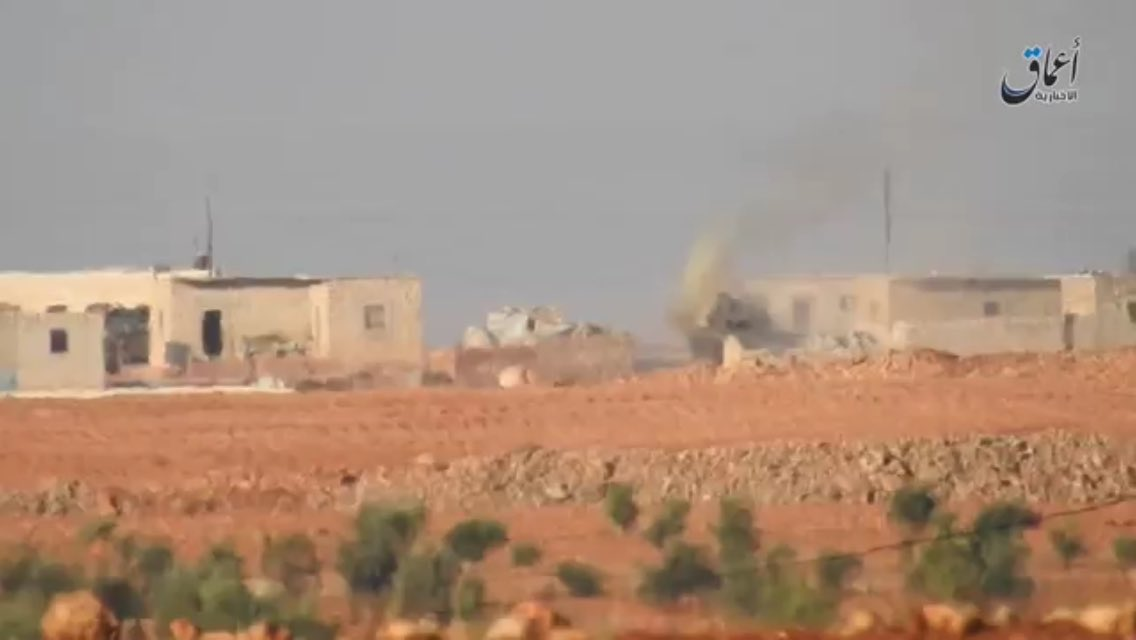 ISIS Hit Turkish Armed Forces' M60T Battle Tank with ATGM. 1 Turkish Serviceman Confirmed Killed