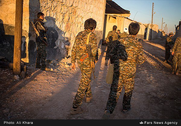 Photos: Iranian-backed Afghani Militia Operates in Southern Aleppo