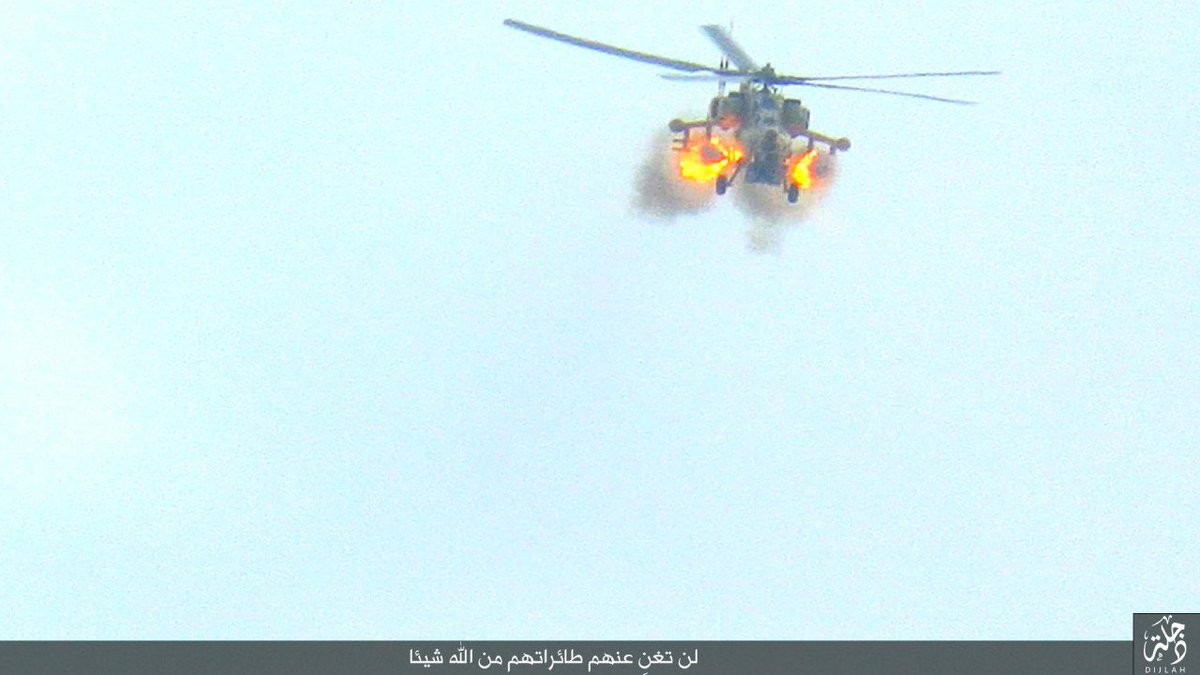 Iraqi Army Aviation Uses Mi-28NE Attack Helicopters near Mosul (Photo)