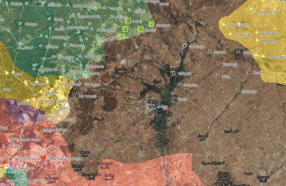 Turkish Armed Forces and Their Proxies Seize 5 Villages in Northern Aleppo