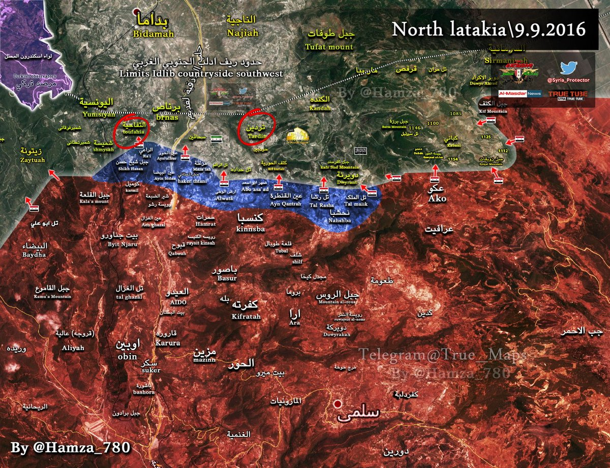Government Forces Launch Fresh Offensive in Northern Latakia