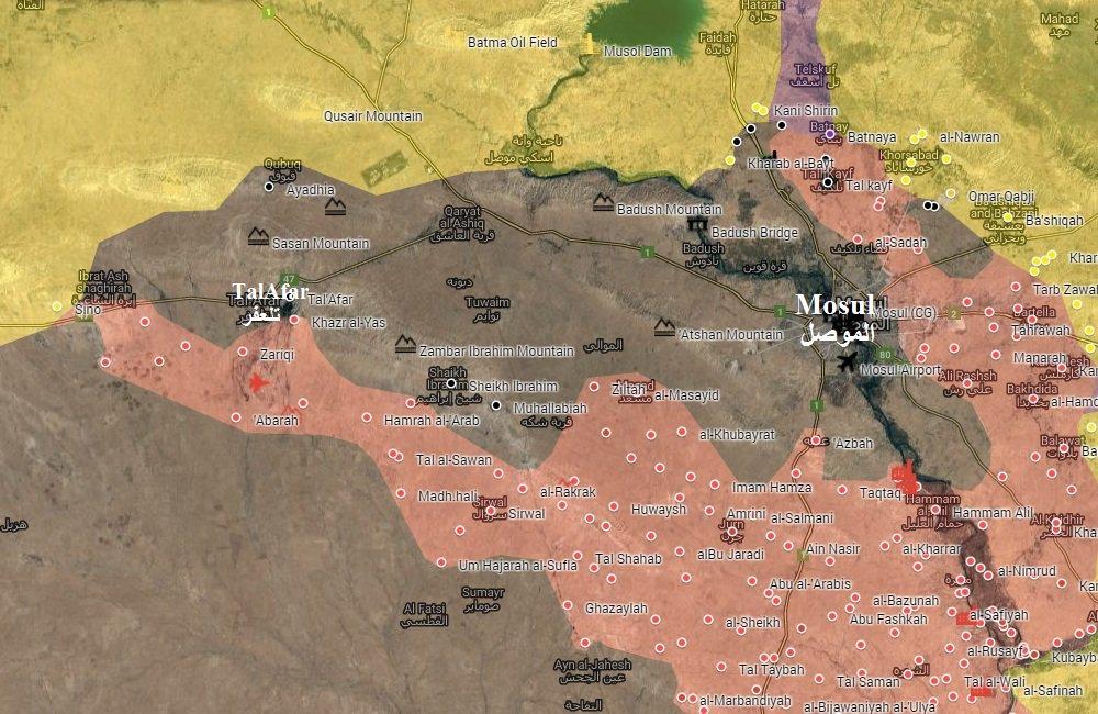 Popular Mobilization Units Complete Siege of Mosul, Reach Peshmerga Position in Sino