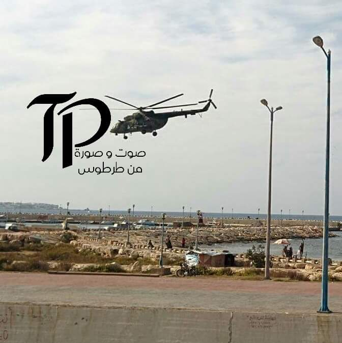 Photos: Russian Military Helicopters Flying to Fight ISIS in Homs