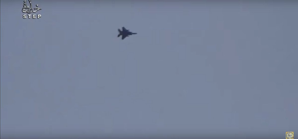 US Air Force's A-10C and F-15E Warplanes Flying in Southen Idlib area Controlled by Al-Nusra (Video)