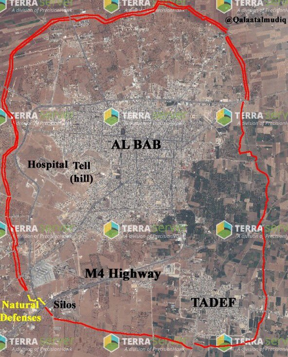 Turkey-led Forces Clashing with ISIS near Al-Bab