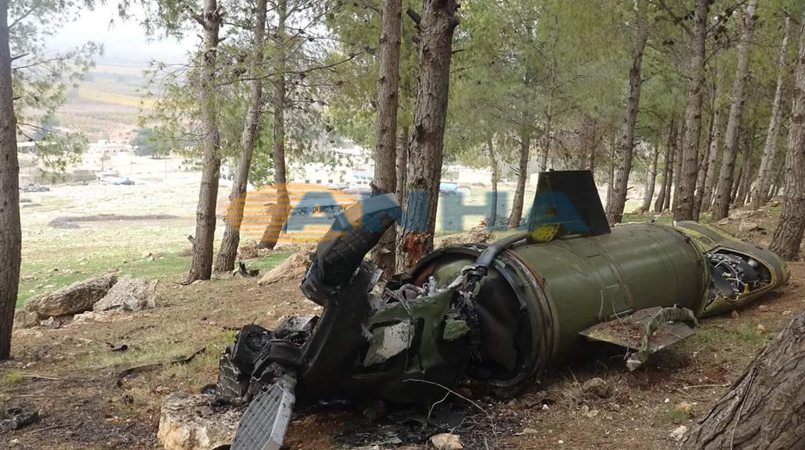 Tochka-U Missile Reportedly Targeted Kurdish-controlled Area in Northwestern Syria