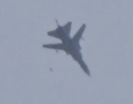 Syrian Air Force Delivers Up To 40 Air Strikes on Terrorists in Hama Province (Video)