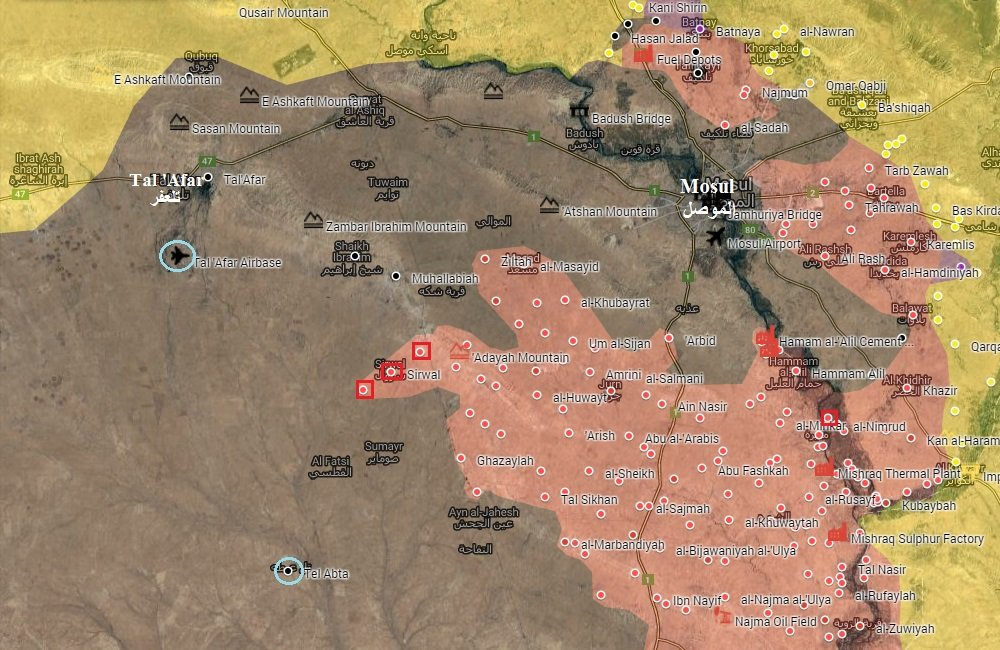 Iraqi Forces Take Control of More Villages in Mosul Countryside, Advance inside of City