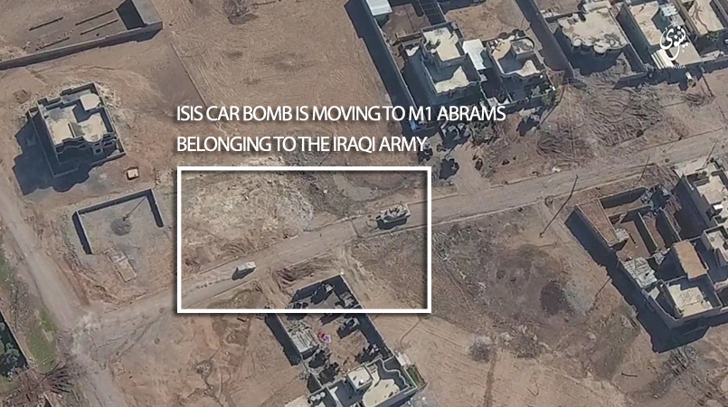 ISIS Car Bomb Attacks on Iraqi Forces near Mosul in November 2016 (Video)