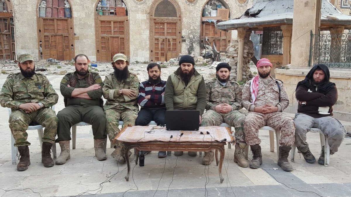 Militant Factions Create United Command in Eastern Aleppo - Report