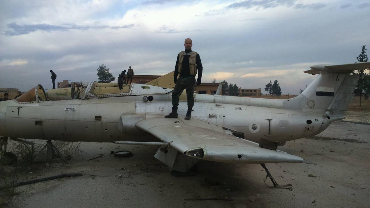 Syrian Army in Kweires Airbase South of al-Bab (Photos)