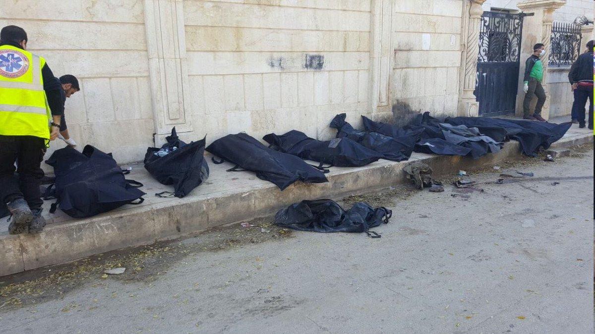 Car Bomb Attack Kills Up to 25 Militants in Azaz (Photos)