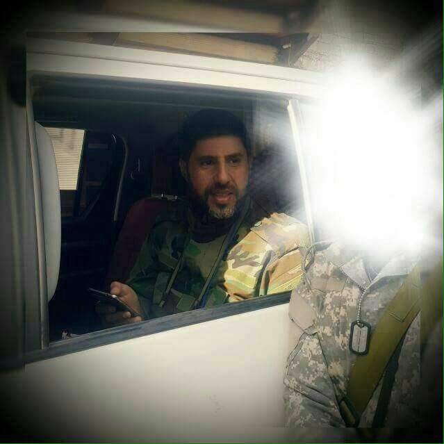 Head of Hezbollah Leader's Bodyguard Team Spotted in Aleppo City