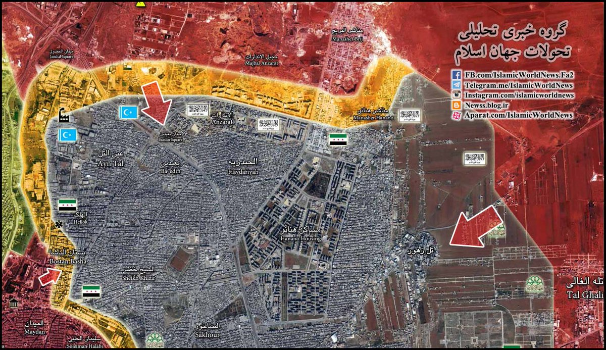 Govt Forces Made Gains in Northern Aleppo