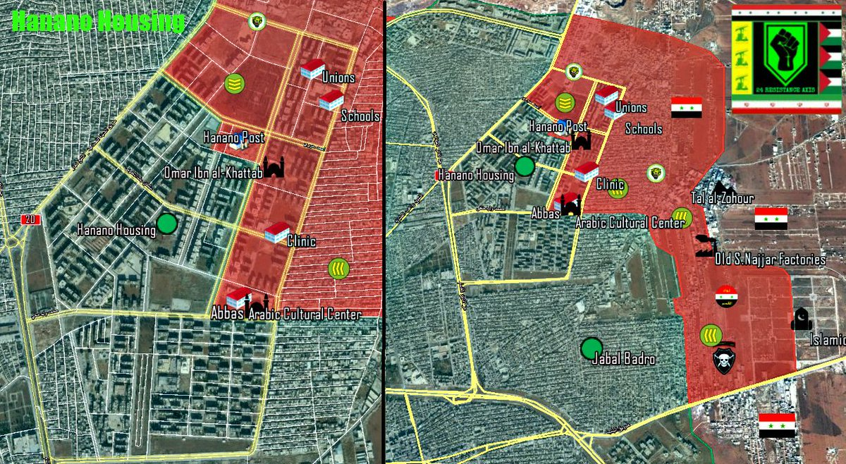 Government Forces Open New Front and Gain More Ground in Eastern Aleppo