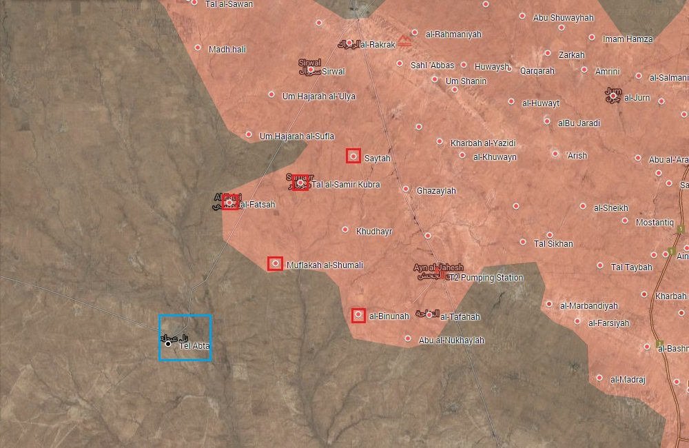 Popular Mobilization Units Liberated 5 Villages from ISIS